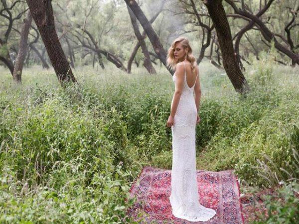 vestido de noiva coleção Birds Of Paradise da Limor Rosen