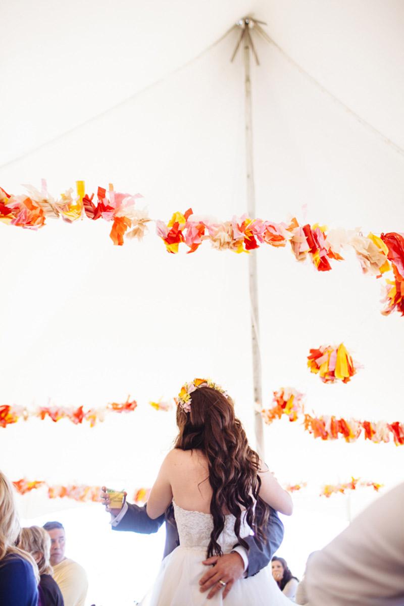 Casamento real no Canadá Brie e Nathan decoração