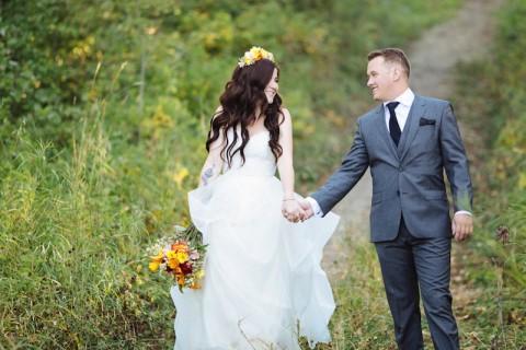 Casamento real no Canadá Brie e Nathan