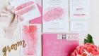 Decoração de Casamento em Tons de Rosa convite