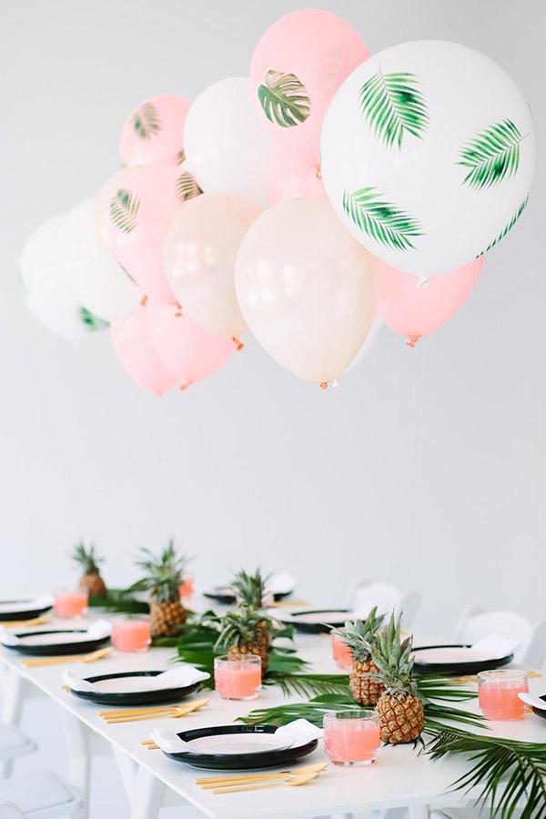 Decoração de Casamento em Tons de Rosa arranjos