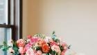 Decoração de Casamento em Tons de Rosa mesa