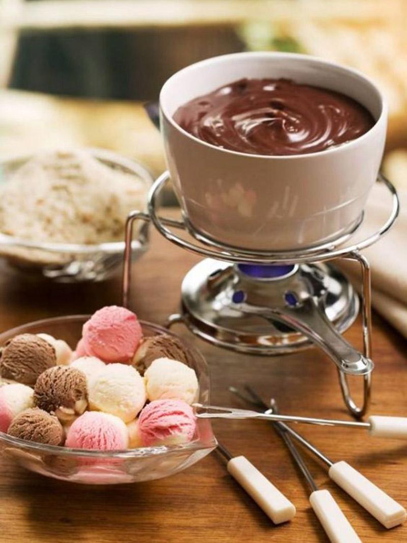 Doces de verão 5 tendências para 2017 sorvete fondue