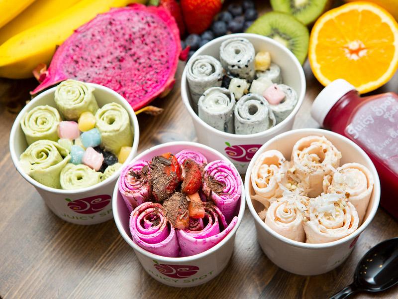 Doces de verão 5 tendências para 2017 sorvete na chapa