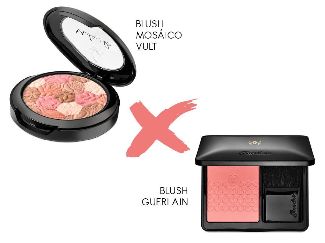 Maquiagem Nacional x importada blush