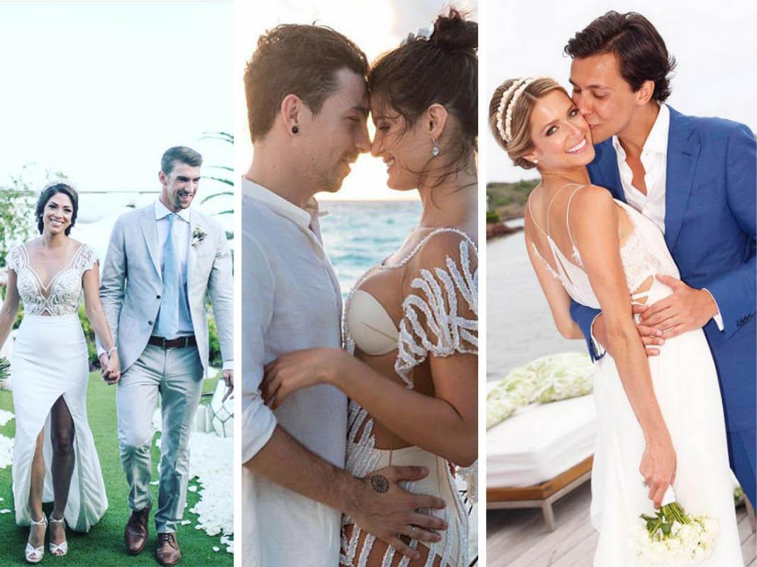 Retrospectiva 2016 Melhores casamentos de celebridades