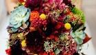 Buquê de casamento 2017 frutas e suculentas