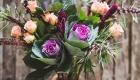 Buquê de casamento crescente ou taça
