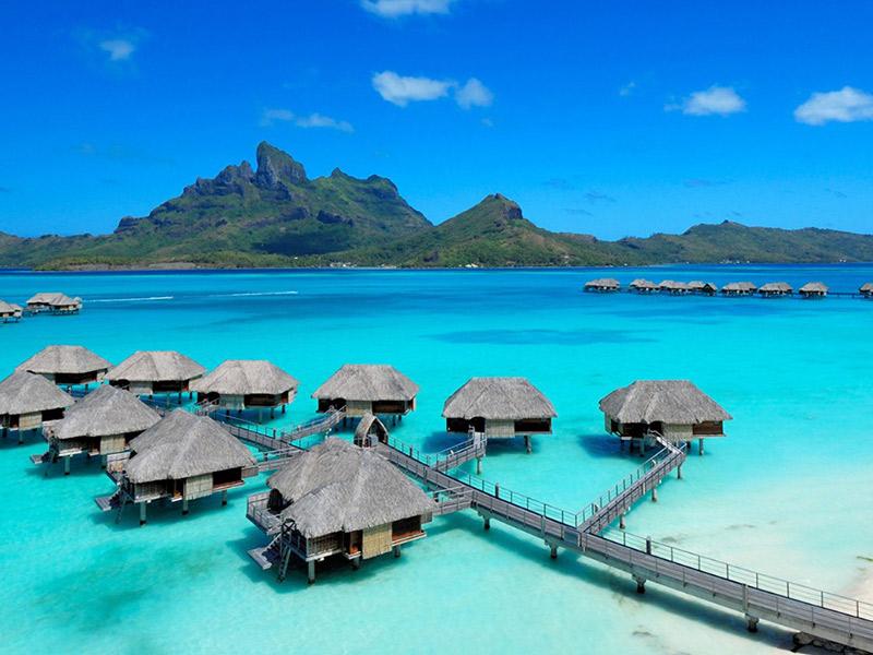 Lua de mel 7 ilhas privadas para visitar Bora Bora