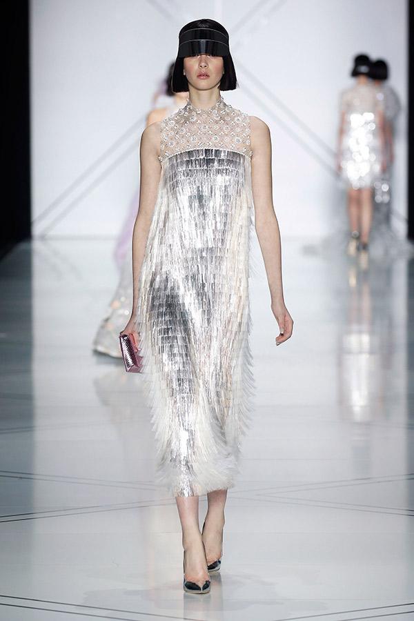 Moda Alta Costura francesa Primavera 2017 metalizados