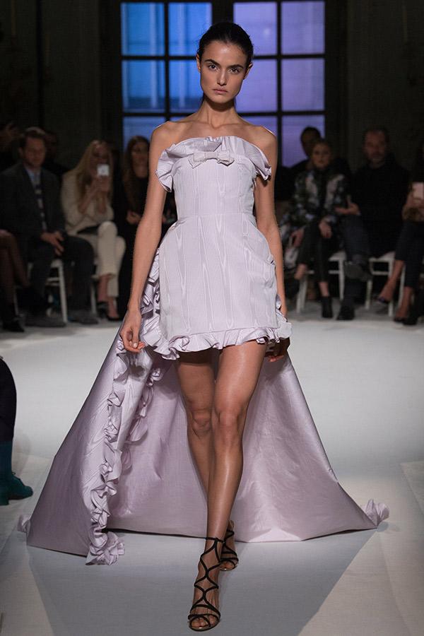 Moda Alta Costura francesa Primavera 2017 mullet