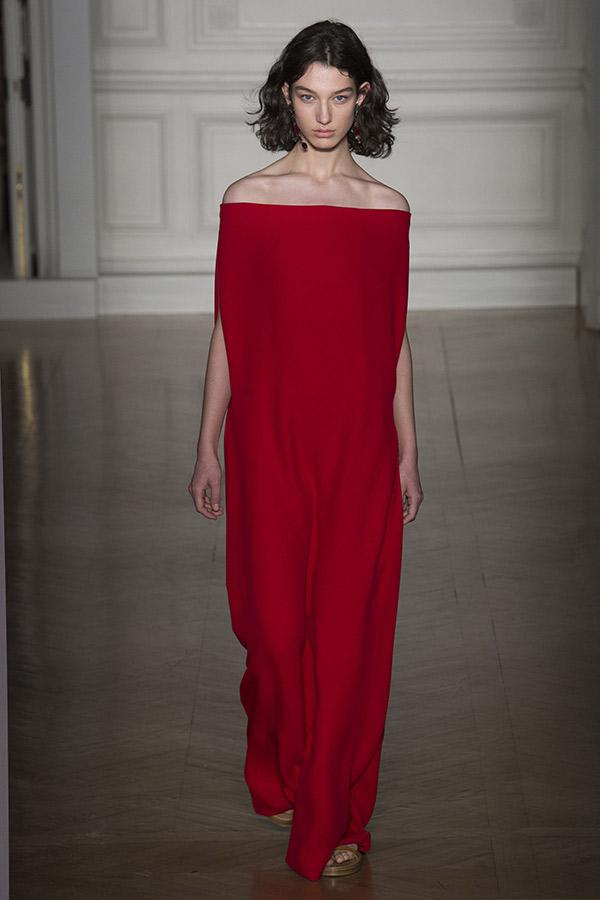Moda Alta Costura francesa Primavera 2017 vermelho