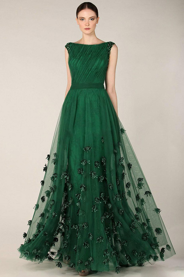Pantone 2017 Como usar greenery no seu casamento vestidos