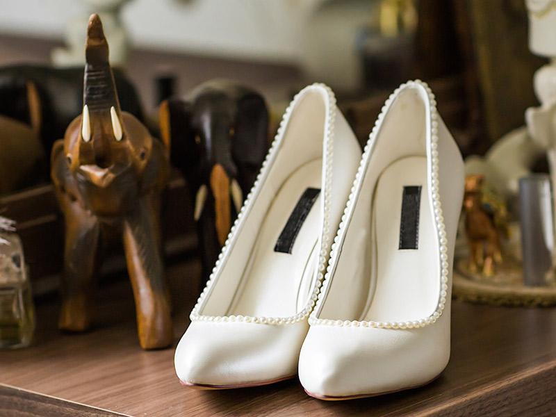 3628781333ab4 Sapato de noiva