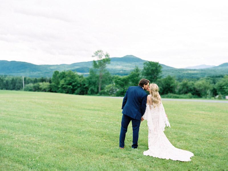 Casamento real no Canadá Mahay e Vicent antes da cerimônia