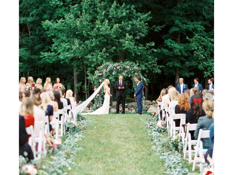 Casamento real no Canadá Mahay e Vicent cerimônia