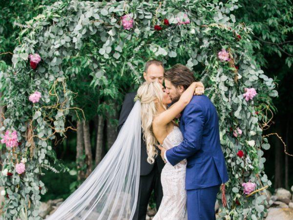 Casamento real no Canadá Mahay e Vicent