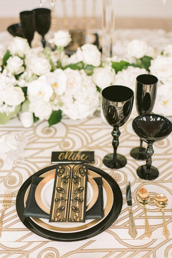Decoração de casamento louça para cada ocasião