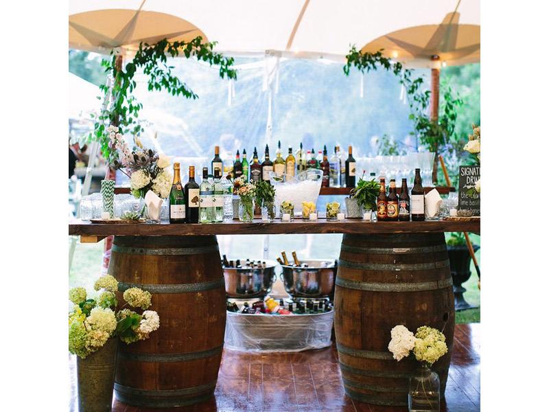 Inspirações Casamento no Carnaval drinks