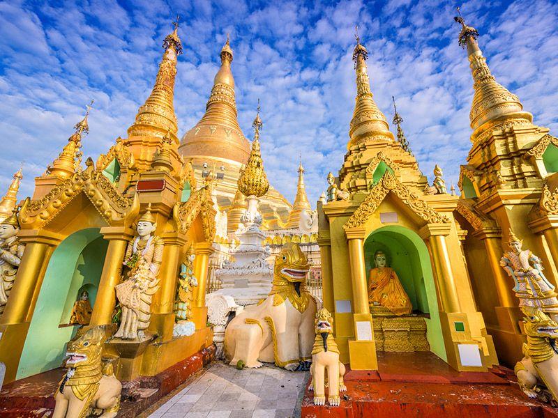 Lua de mel destinos exóticos Myanmar