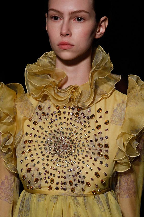 Moda Alta Costura francesa Primavera 2017 babados