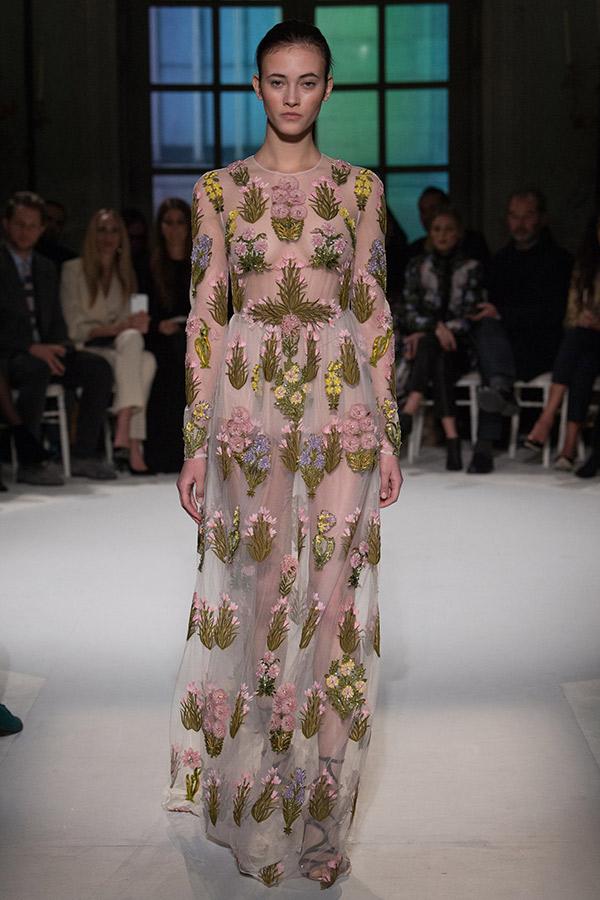 Moda Alta Costura francesa Primavera 2017 bordados