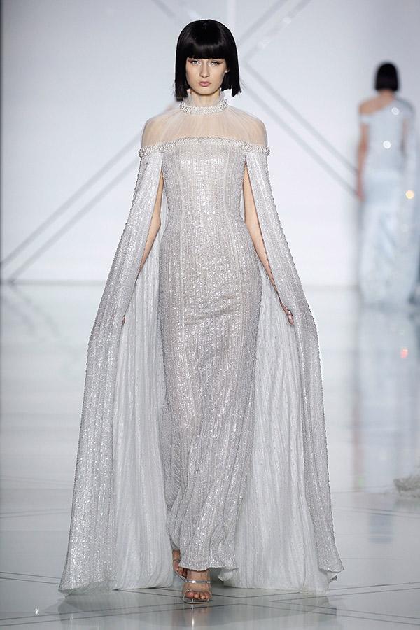 Moda Alta Costura francesa Primavera 2017 pelerines