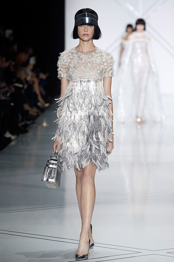 Moda Alta Costura francesa Primavera 2017 plumas