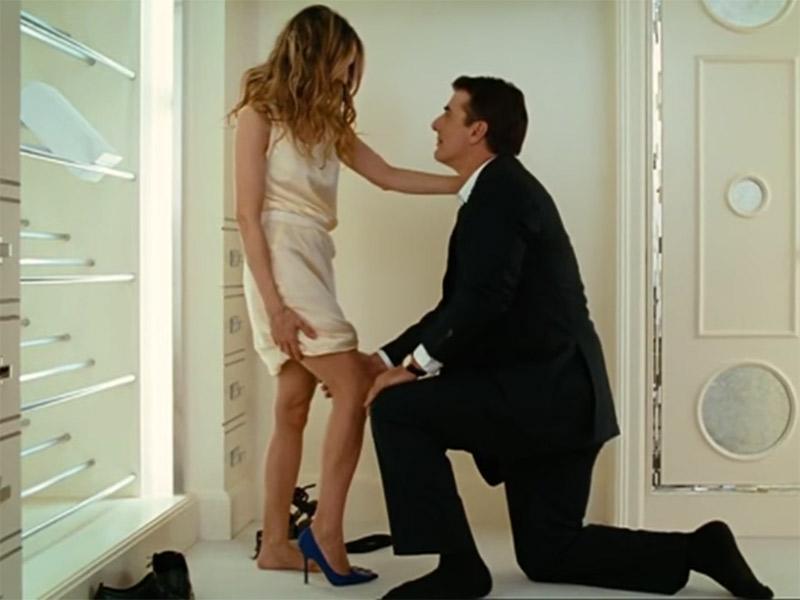 Sapato de noiva Manolo Blahnik linha bridal