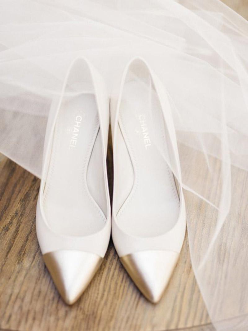 Sapato de noiva O guia completo prazo de procura