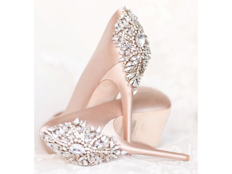 Sapato de noiva O guia tendências