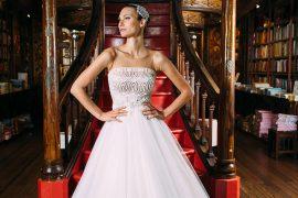 Vestido de noiva Coleção Voyage 2017 Solaine Piccoli