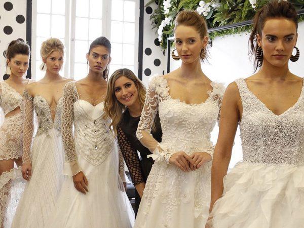 Vestido de noiva Inauguração Atelier Carol Hungria
