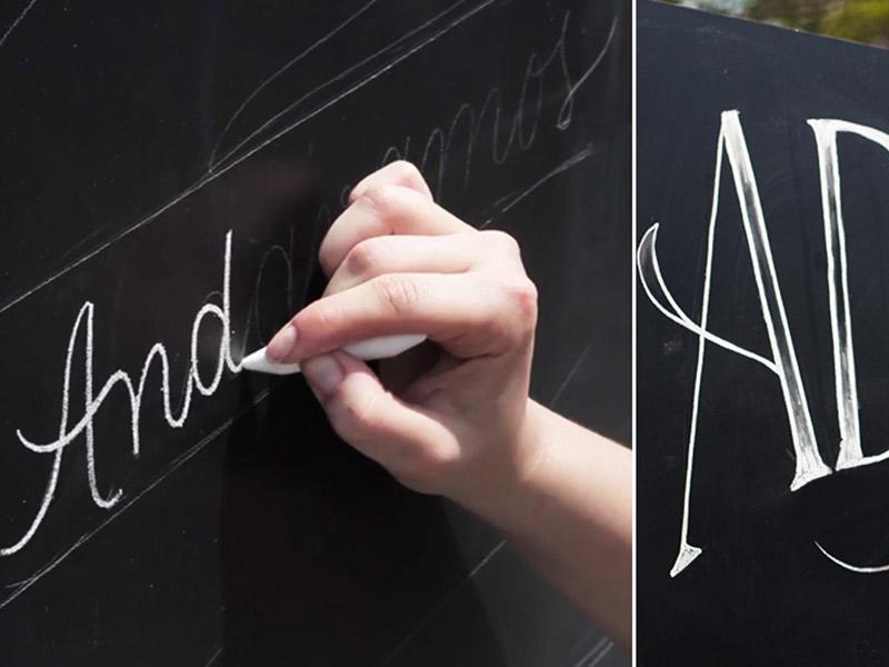 Caligrafia e lettering em casamentos Tassiana Martini