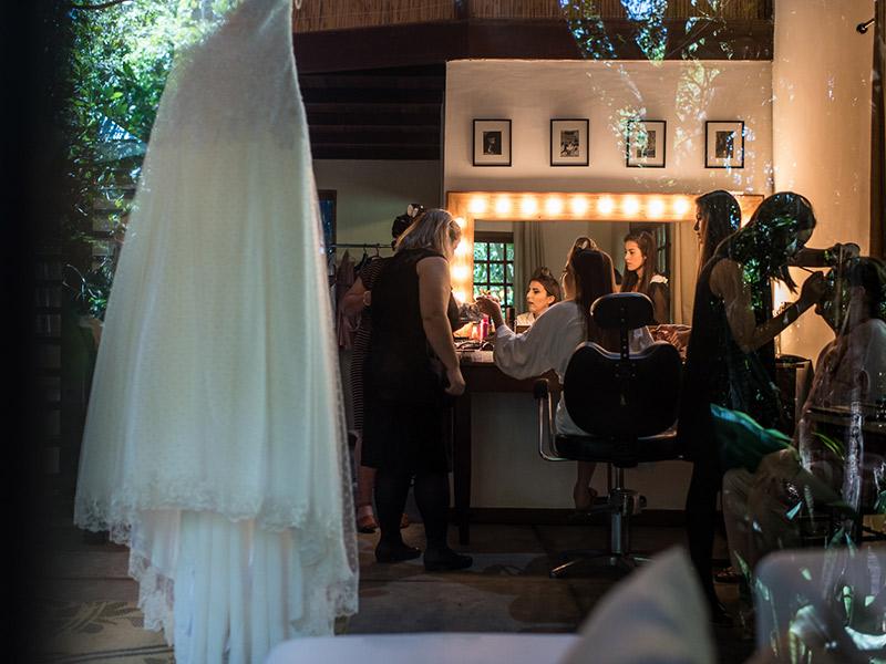 Casamento real Isabel e Leonardo antes da cerimônia
