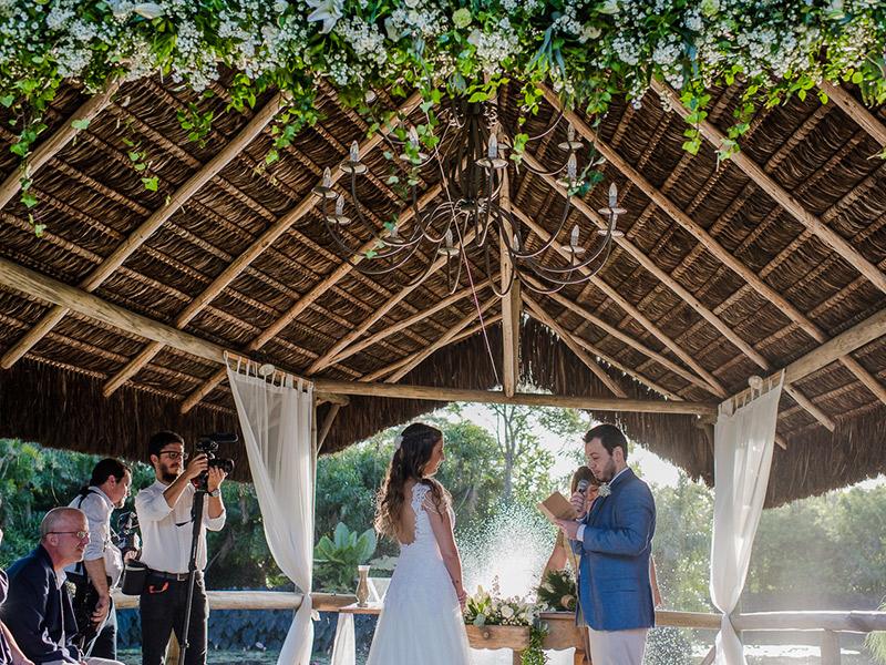 Casamento real Isabel e Leonardo cerimônia