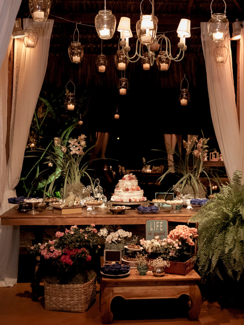 Casamento real Jéssica e Franklin decoração