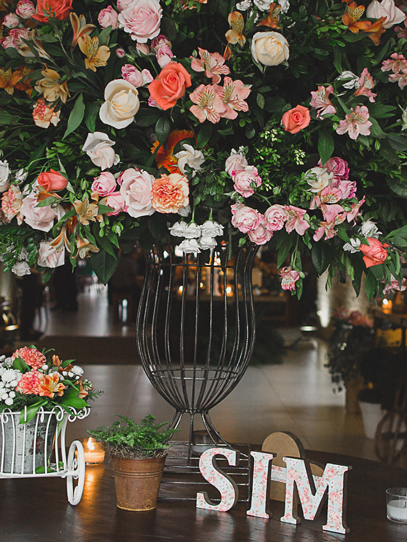 Casamento real Juliana e André decoração