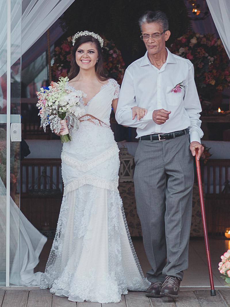 Casamento real Juliana vestido