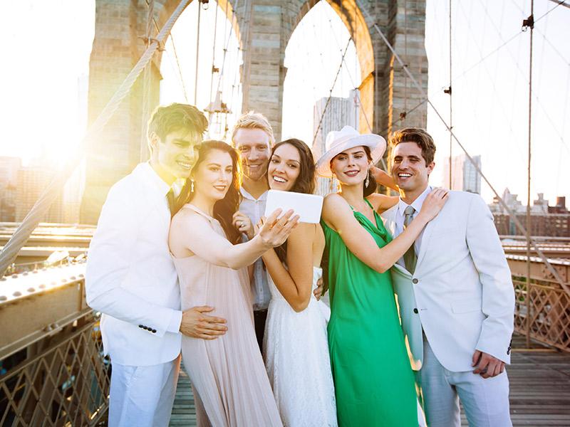 Destination wedding no exterior e casamento no Brasil convidados
