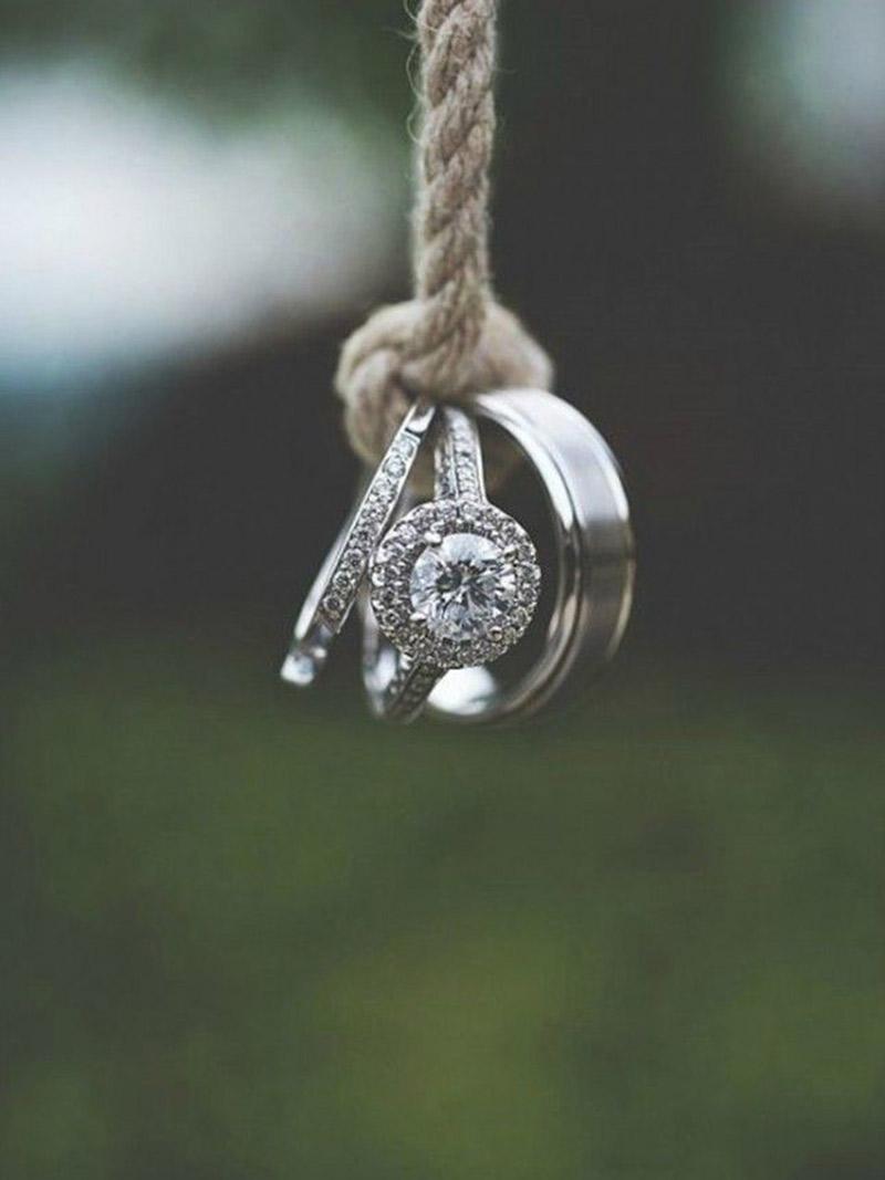 Dicas para um pedido de casamento anéis