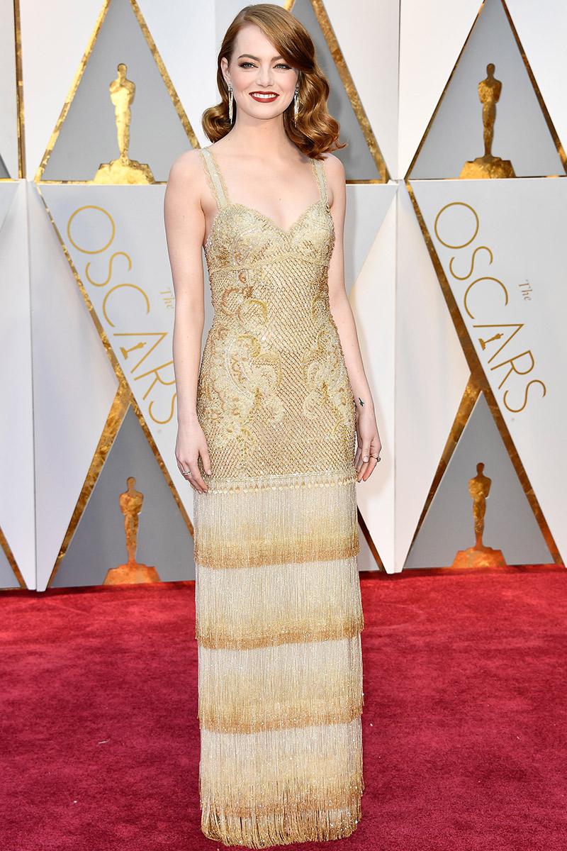 Inspiração para vestidos no Oscar 2017