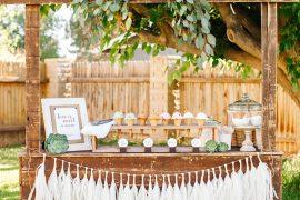 Mais pinadas decorações de mini wedding na Itália
