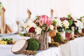 Melhores e mais pinadas decorações de mini wedding no Reino Unido