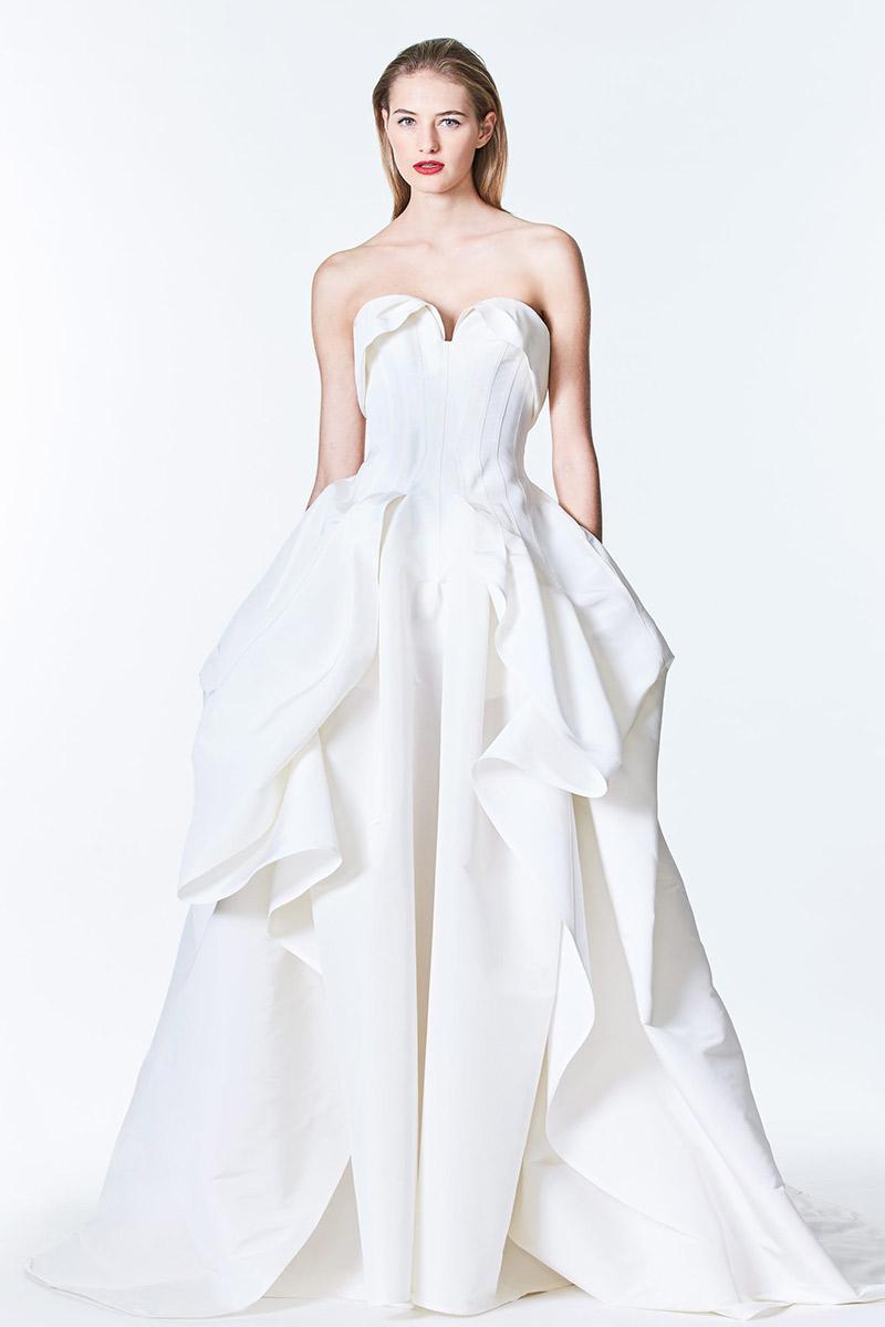 Tendências de vestidos de noiva em 2017 Nanna da whitehall