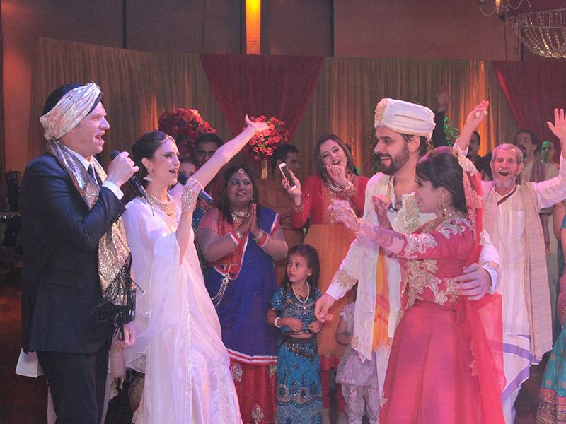Casamento indiano no programa Fábrica de Casamentos
