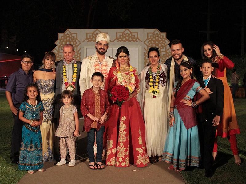Fábrica de Casamentos casamento indiano no programa