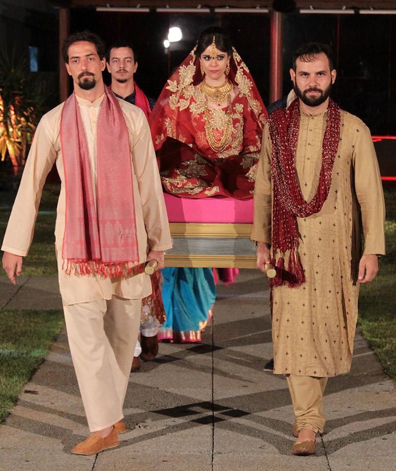 Casamento indiano no programa Fábrica de Casamentos noiva