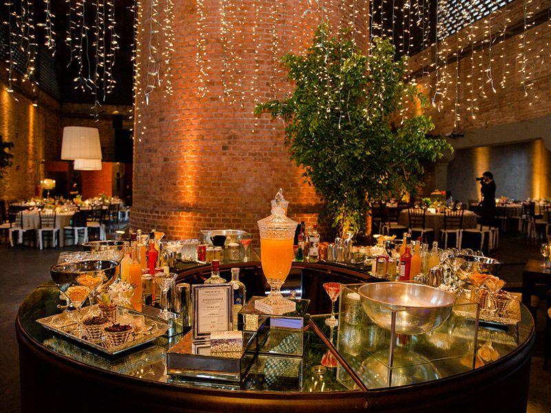 Casamento real Bianca e Fábio decoração bar