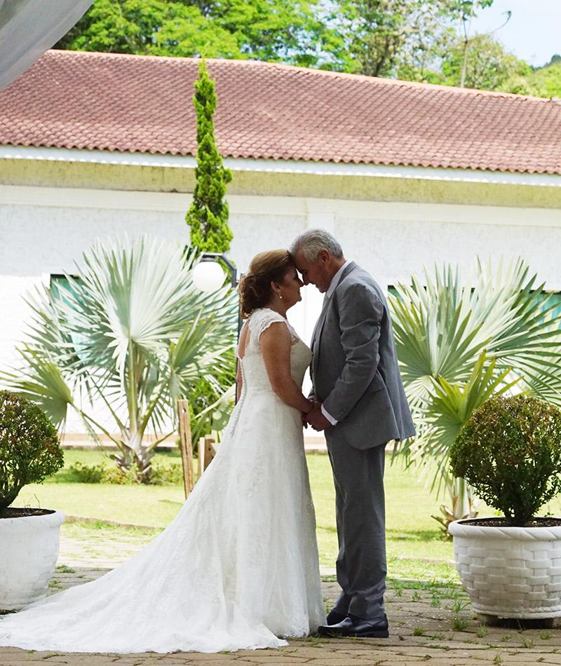 Casamento real Carmen e José casal